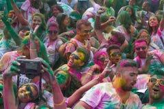 Färghimmel 5K Arkivfoton