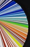 färghjul Royaltyfri Bild