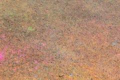 Färgkörning Arkivbild