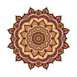 Färgklottermandala Royaltyfria Bilder
