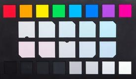Färgkontrollör royaltyfri fotografi