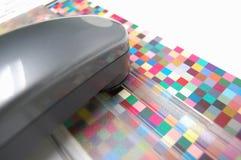 Färgkontroll Arkivbilder