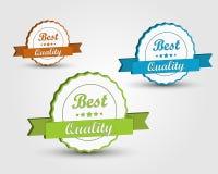 Färgkvalitetsband 3D Royaltyfri Illustrationer