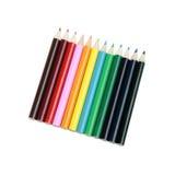Färgläggningen Pencils utklipp Arkivbild