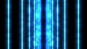 Färglaserstrålar i svart bakgrund tunnel H?rliga str?lar Ljus animering för åska vektor illustrationer