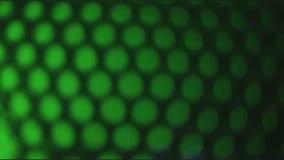 Färgljus ut ur fokus stock video