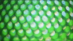 Färgljus ut ur fokus lager videofilmer