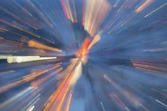 Färgljusbakgrund Arkivfoton