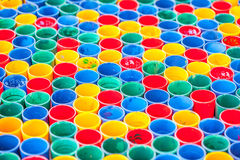 Färgmålarfärgbakgrund Arkivfoton