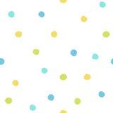 Färgmålarfärgdroppar Arkivbild