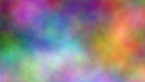 Färgmoln vektor illustrationer
