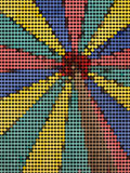 Färgmosaikbakgrund Royaltyfria Bilder