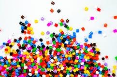 Färgpärlor Fotografering för Bildbyråer