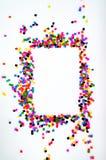 Färgpärlor Arkivfoto