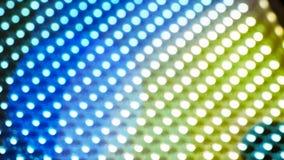 Färgpanel med den LEDDE kulan Fotografering för Bildbyråer