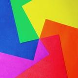 färgpapper Royaltyfria Bilder