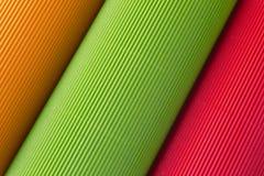 färgpapper Arkivbilder