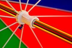 färgparaply Arkivbild