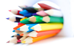 Färgpennafärg Arkivfoto