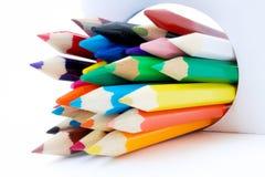 Färgpennafärg Fotografering för Bildbyråer