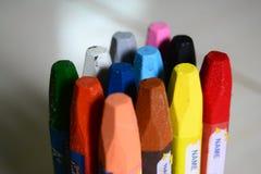 Färgpennafärgläggning Arkivbild