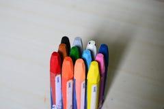 Färgpennafärgläggning Fotografering för Bildbyråer