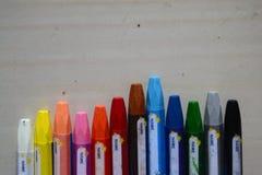 Färgpennafärgläggning Royaltyfri Fotografi