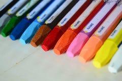 Färgpennafärgläggning Arkivfoton