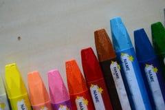 Färgpennafärgläggning Arkivfoto