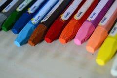 Färgpennafärgläggning Royaltyfria Bilder