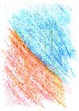 Färgpennatextur vektor illustrationer