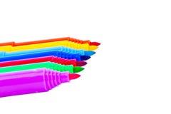 Färgpennauppsättning Arkivbilder