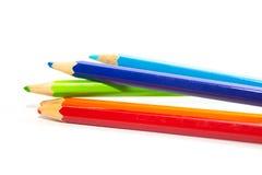 Färgpennor. arkivfoto