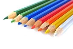 Färgpennor Royaltyfri Bild