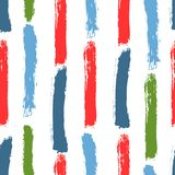 Färgpenseldrag av vattenfärgborsten Adobe all konst skapar provkartor för band för modell för droppillustratörpalett seamless val royaltyfri illustrationer