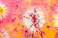 färgpinktie Arkivfoto