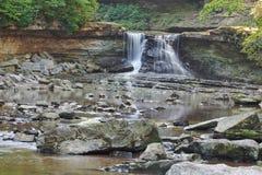 FärgPre-gryning vattenfall Royaltyfri Fotografi