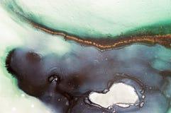 Färgpulver målarfärg, abstrakt begrepp Closeup av målningen Färgrik abstrakt målningbakgrund Hög-texturerad olje- målarfärg Högkv vektor illustrationer