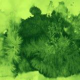 Färgpulverfläckar Arkivbild
