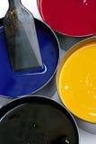 färgpulverprinting Arkivbild