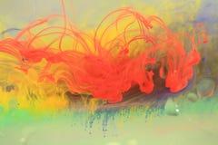 färgpulverswirls Royaltyfria Foton
