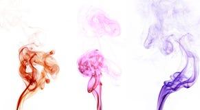 färgrök Arkivfoto