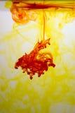 färgred virveer yellow Arkivbilder