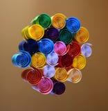 färgregnbåge Fotografering för Bildbyråer