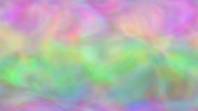 Färgregnbågevågor (den sömlösa öglan) stock illustrationer