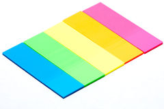 färgremsor Arkivfoto