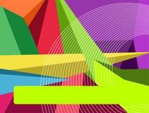 färgrik abstrakt bakgrund Royaltyfria Bilder
