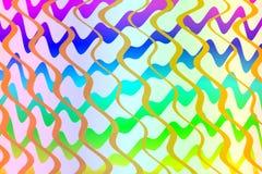 Färgrik abstrakt bakgrund för remsatexturdesign Arkivbild