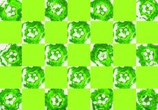 Färgrik abstrakt bakgrund med stämplar Royaltyfri Bild