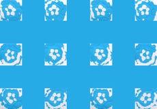 Färgrik abstrakt bakgrund med stämplar Royaltyfria Bilder